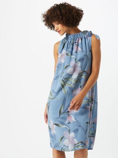 ZABAIONE Letní šaty 'Dilari' - světlemodrá / mix barev, Model/ka