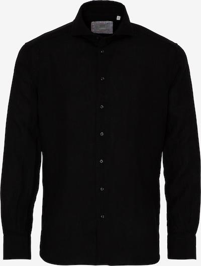 ETERNA Langarm Hemd MODERN FIT in schwarz, Produktansicht