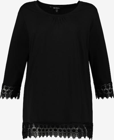 Ulla Popken Majica | črna barva, Prikaz izdelka