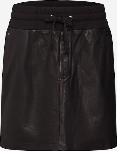 FREAKY NATION Lederrock in schwarz, Produktansicht