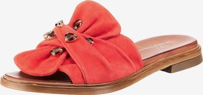 JOLANA & FENENA Pantoletten in rot, Produktansicht
