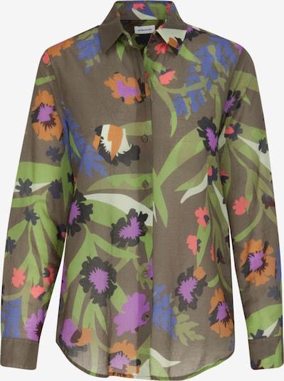 SEIDENSTICKER Bluse ' Schwarze Rose ' in grün, Produktansicht