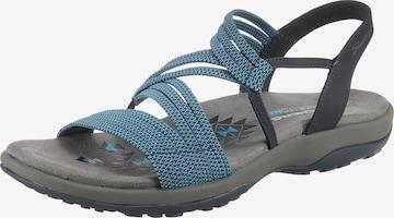 SKECHERS Sandale 'Reggae' in Blau