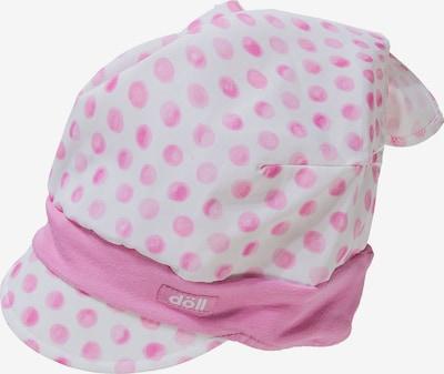DÖLL Kopftuch mit Schirm in rosa / weiß, Produktansicht