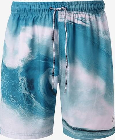Jan Vanderstorm Zwemshorts 'Konrad' in de kleur Hemelsblauw / Wit, Productweergave