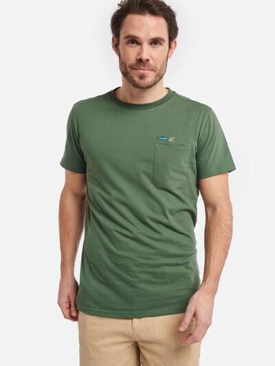 Shiwi Shirt 'speedboat' in hellgrün: Frontalansicht