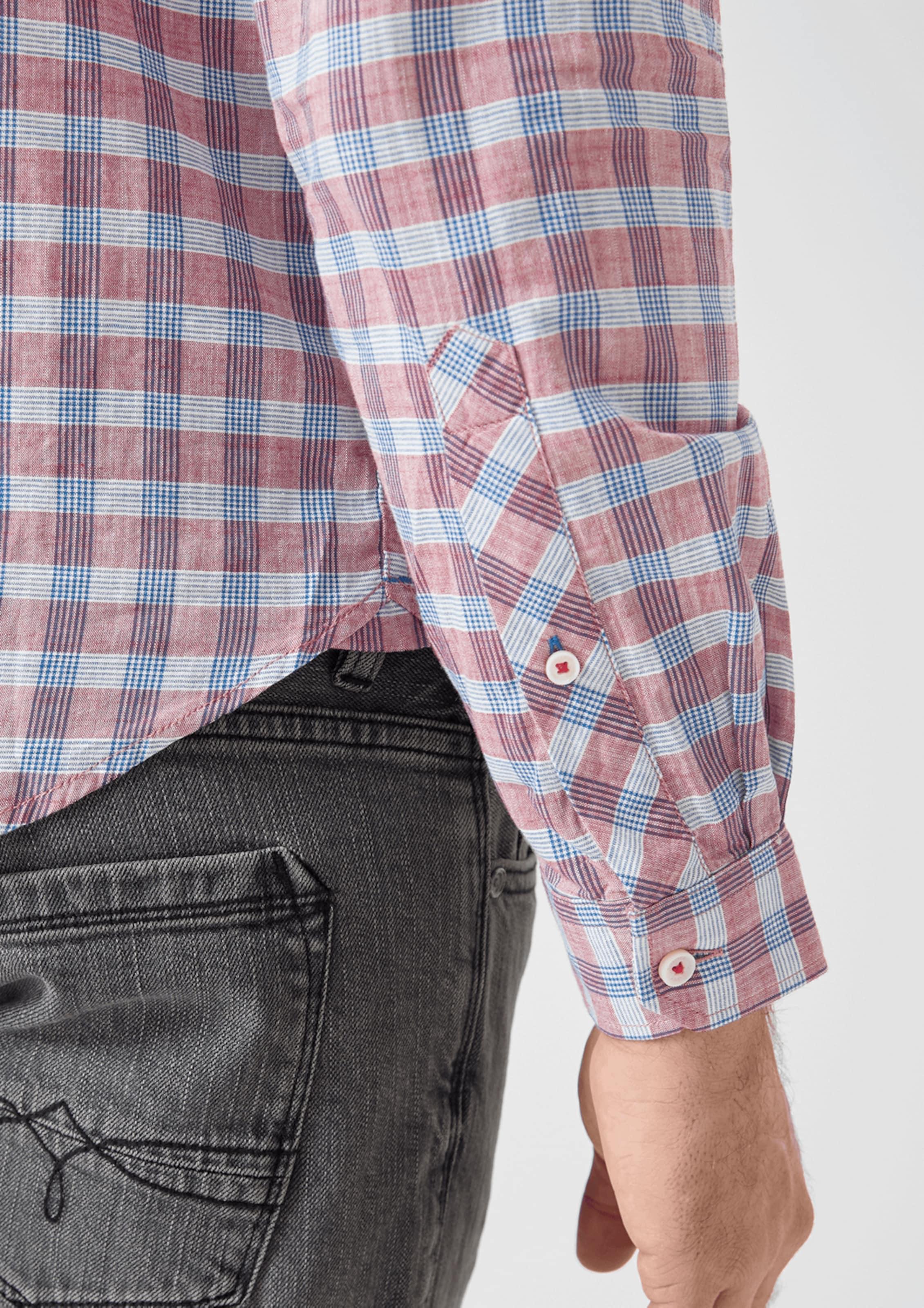BlauPastellrot S In S oliver Hemd eCrBdxo