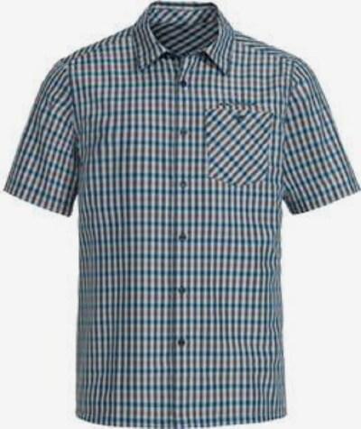 VAUDE Hemd 'Me Albsteig' in hellblau / violettblau / orange, Produktansicht