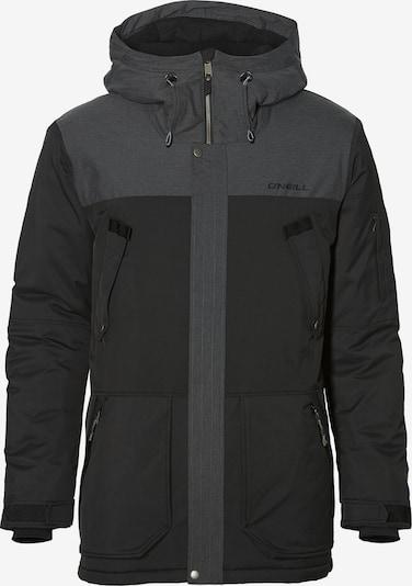 O'NEILL Športová bunda 'PM Hybrid Explorer' - tmavosivá / čierna, Produkt