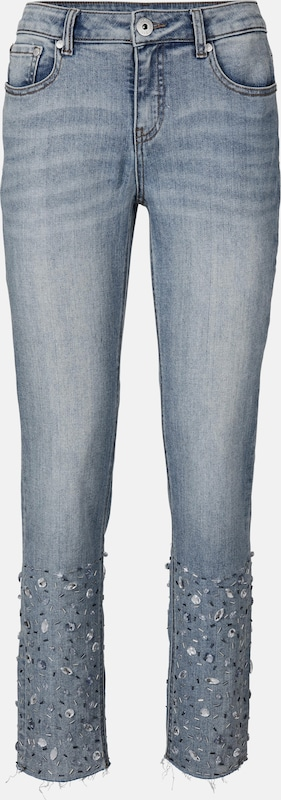 Jeans In Blauw Denim Jeans Heine In Heine ZlwkuOiTPX