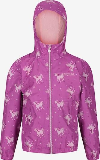 REGATTA Regenjacke 'Ellison' in fuchsia / rosa, Produktansicht