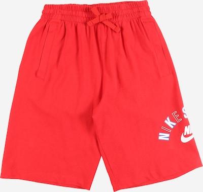Nike Sportswear Hlače | rdeča barva, Prikaz izdelka