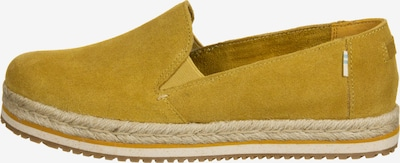 TOMS Espadrilles 'Palma' in de kleur Geel, Productweergave