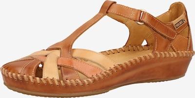 PIKOLINOS Sandalen in beige / hellbraun, Produktansicht
