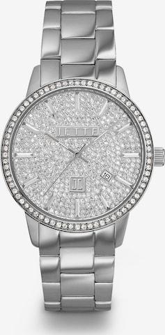 JETTE Armbanduhr in Silber