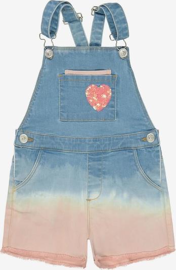 JETTE BY STACCATO Jeanslatzhose in blue denim / rosa, Produktansicht