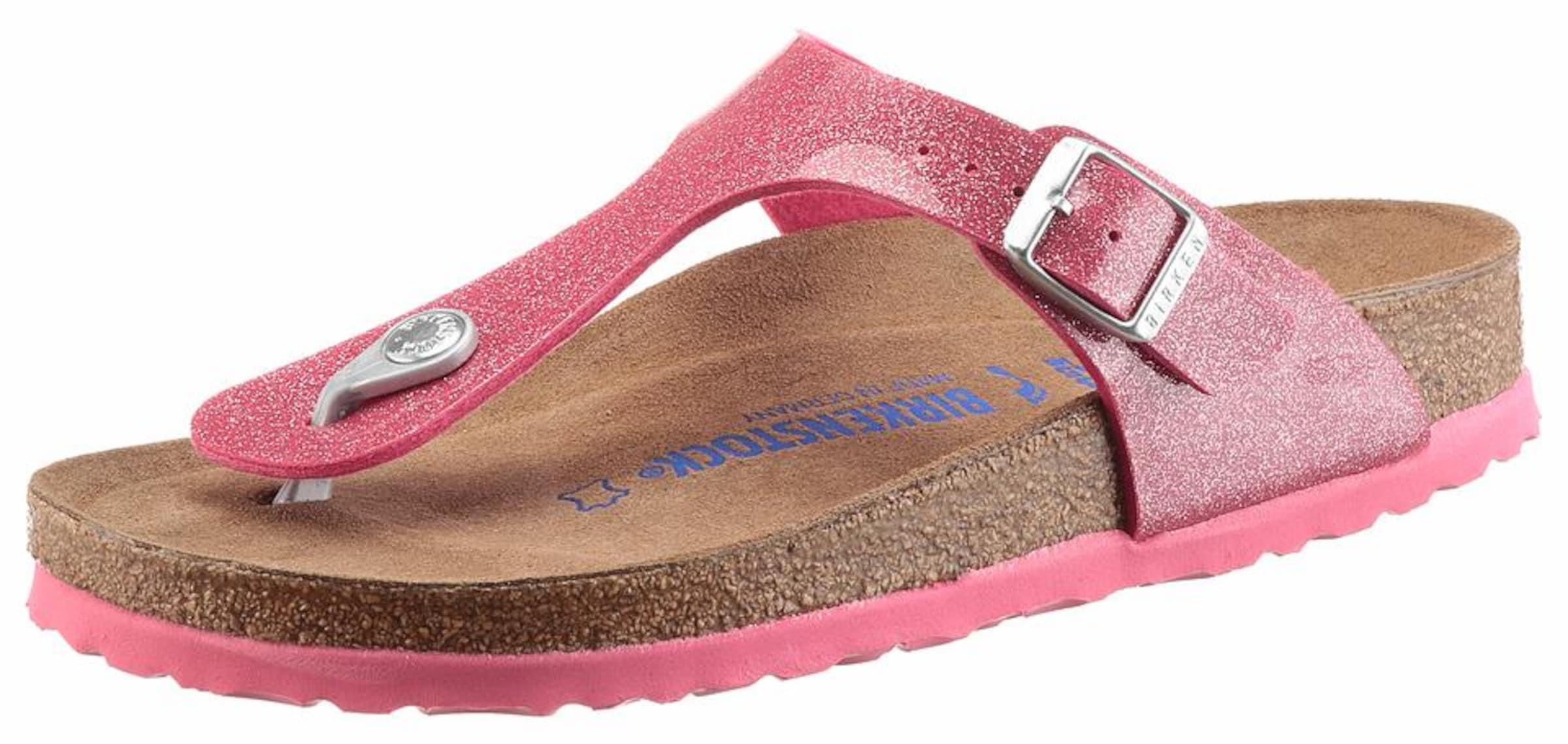 Haltbare Mode billige Schuhe BIRKENSTOCK   Zehentrenner 'Gizeh' Schuhe Gut getragene Schuhe