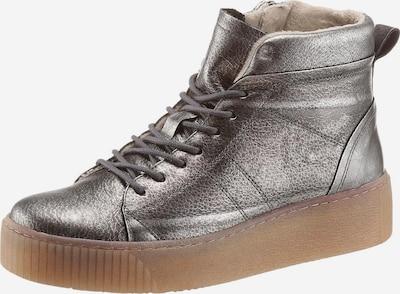 TAMARIS Sneaker 'Pieces' in silbergrau, Produktansicht
