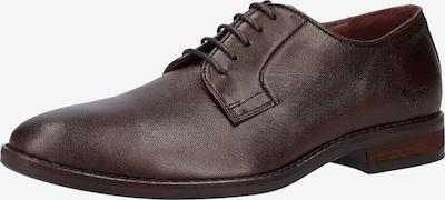 MUSTANG Schuhe in dunkelbraun, Produktansicht