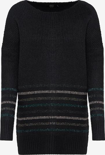 ONLY Sweter 'onlRIGA' w kolorze czarnym, Podgląd produktu