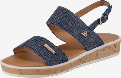 BRUNO BANANI Sandale in blau, Produktansicht