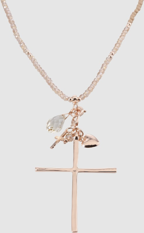 sweet deluxe Kette 'Heart & Cross'