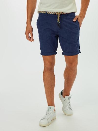 TOM TAILOR DENIM Chino in de kleur Blauw, Modelweergave