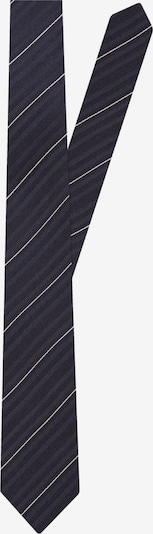 SEIDENSTICKER Krawatte 'Schwarze Rose' in kobaltblau / weiß, Produktansicht