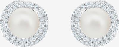 Swarovski Náušnice - stříbrná / perlově bílá, Produkt