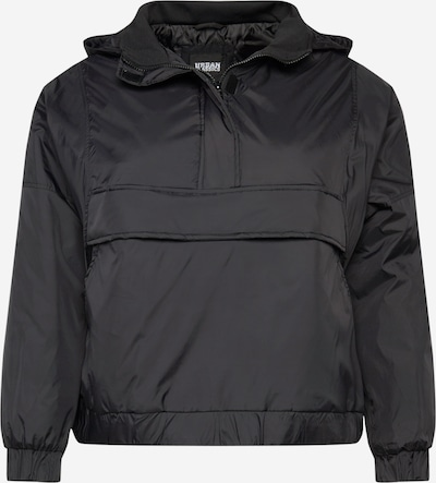 Urban Classics Curvy Kurtka przejściowa 'Ladies Panel Padded Pull Over Jacket' w kolorze czarnym, Podgląd produktu