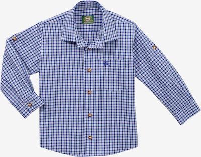 OS-TRACHTEN Trachtenhemd in blau / weiß, Produktansicht