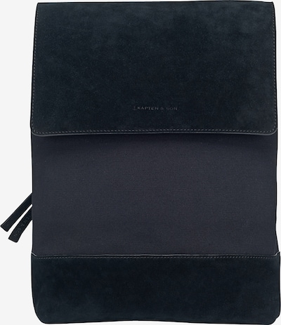 Kapten & Son Rucksack 'Oslo' in schwarz, Produktansicht