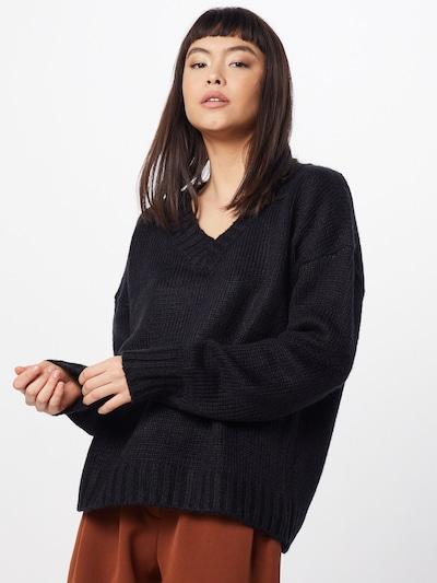 GLAMOROUS Sweter 'KA6477' w kolorze czarnym: Widok z przodu
