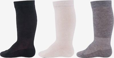 EWERS Chaussettes en marine / gris / blanc: Vue de face