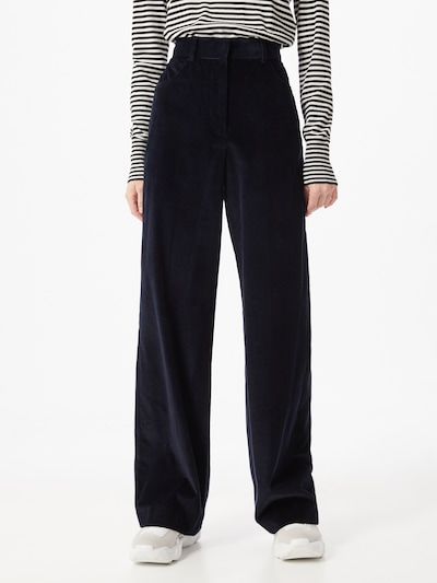 Pantaloni 'Manila' Weekend Max Mara pe navy, Vizualizare model