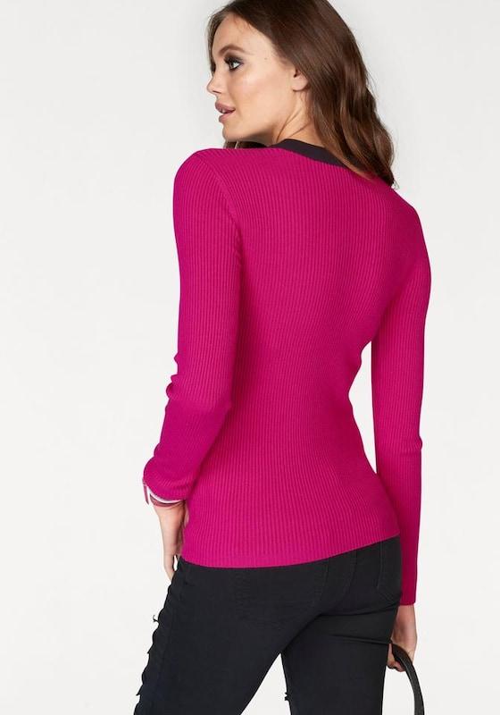 MELROSE V-Ausschnitt-Pullover