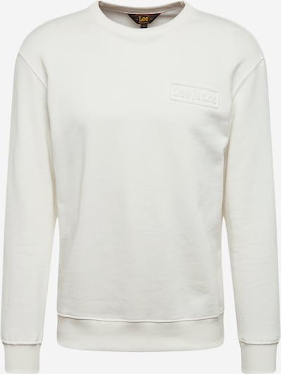 Lee Sweatshirt in ecru, Produktansicht