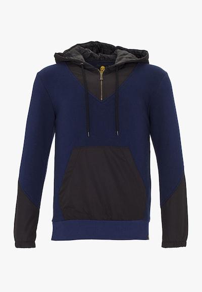 PLUS EIGHTEEN Kapuzenpullover in dunkelblau / schwarz, Produktansicht