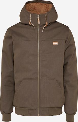 Iriedaily Between-season jacket in Green