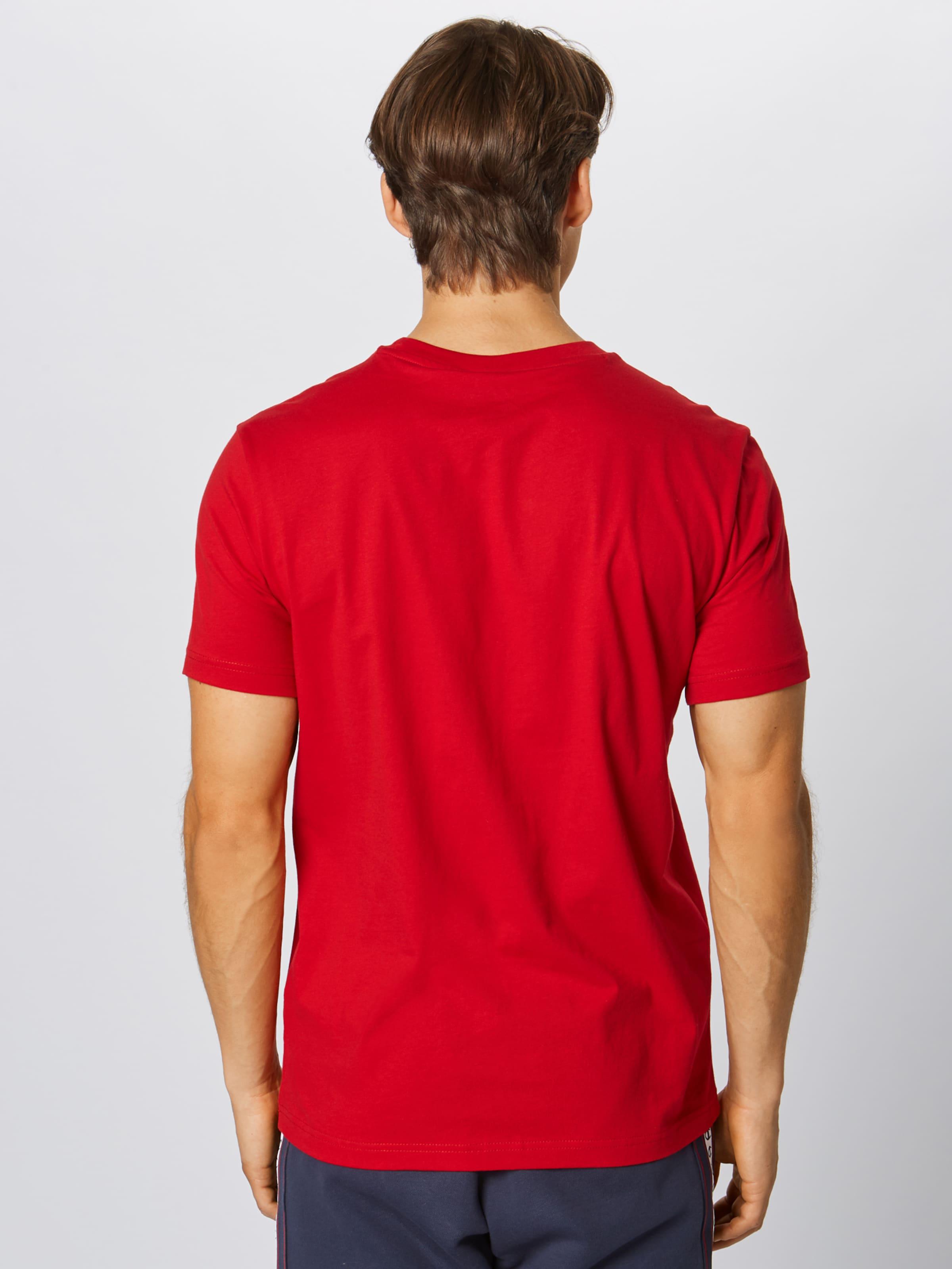 Rouge Vif Authentic Athletic T 'crewneck' shirt Champion En Apparel RL34A5j