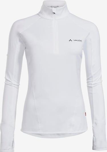 VAUDE Funktionsshirt 'Livigno' in weiß, Produktansicht