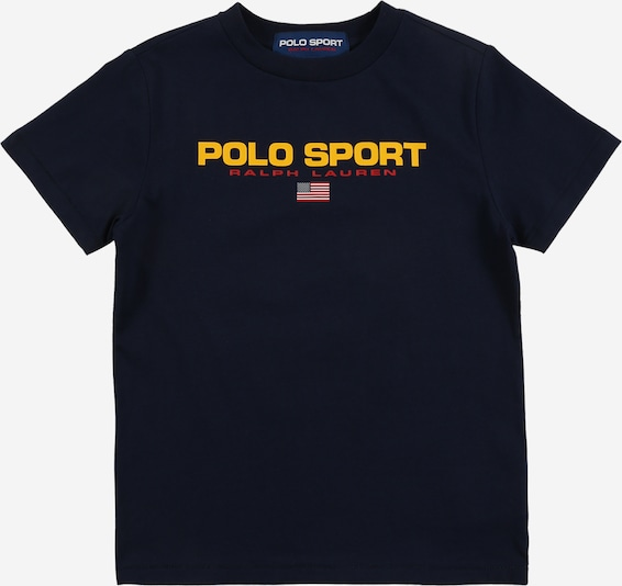 POLO RALPH LAUREN Shirt 'SS CN-TOPS-T-SHIRT' in de kleur Navy, Productweergave
