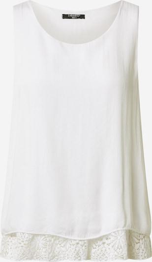 ZABAIONE Haut 'Cara' en blanc, Vue avec produit