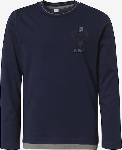 ESPRIT Langarmshirt in dunkelblau, Produktansicht
