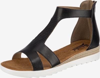Freyling Sandalette in schwarz, Produktansicht