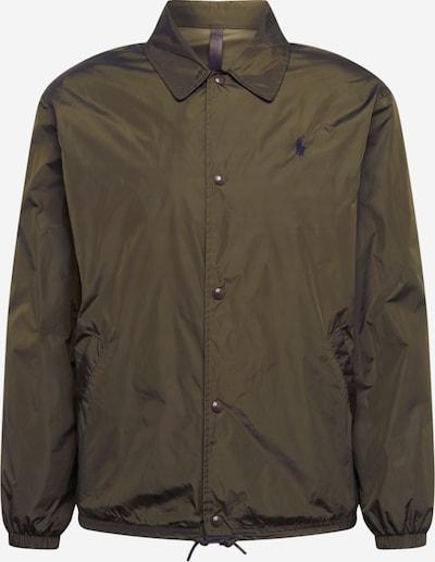 POLO RALPH LAUREN Prehodna jakna 'COACHES JKT-UNLINED-JACKET' | oliva barva, Prikaz izdelka