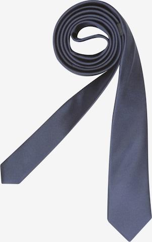 SEIDENSTICKER Krawatte ' Slim ' in Blau