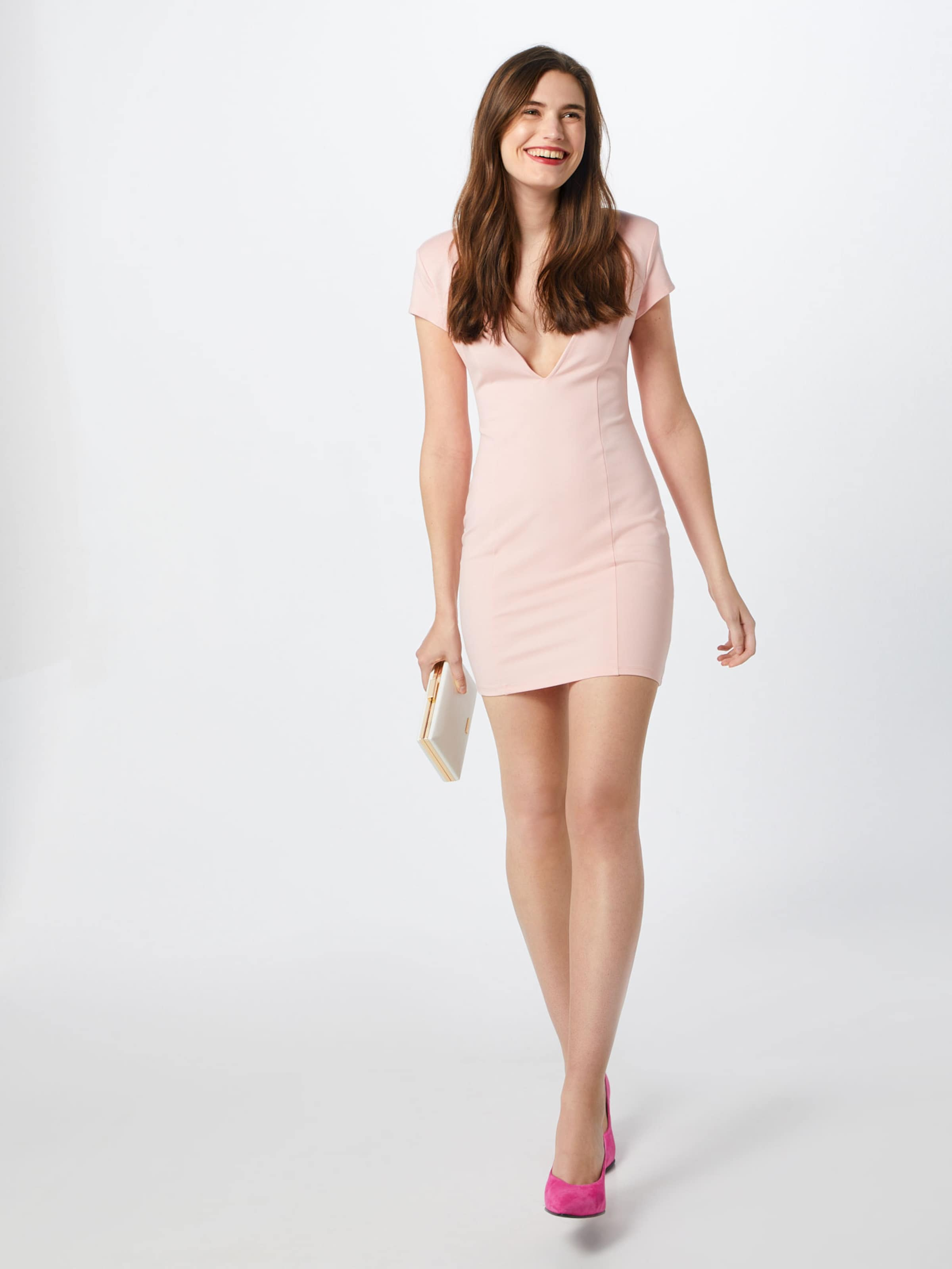 Robe De 'capped Cocktail Rose En Sleeve Dress' Ivyrevel Mini Plunge b6Yv7yfg