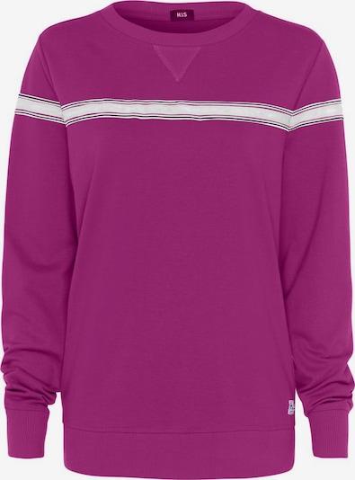 Bluză de molton HIS JEANS pe lila / alb, Vizualizare produs