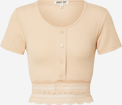 ABOUT YOU Shirt 'Carin' in beige, Produktansicht